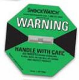 Shockwatch label