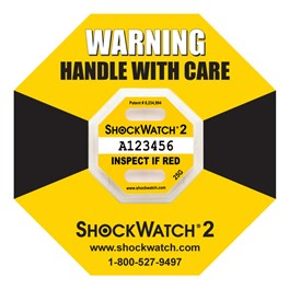Shockwatch 2 Yellow 25 G