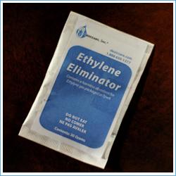 Bolsas absorbentes etileno