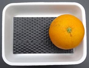 Ethylene absorbent pad