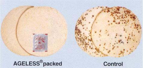 Efectos de absorbentes de oxígeno