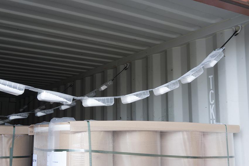 desecante contenedores marítimos